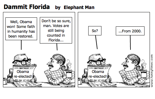 Dammit Florida by Elephant Man