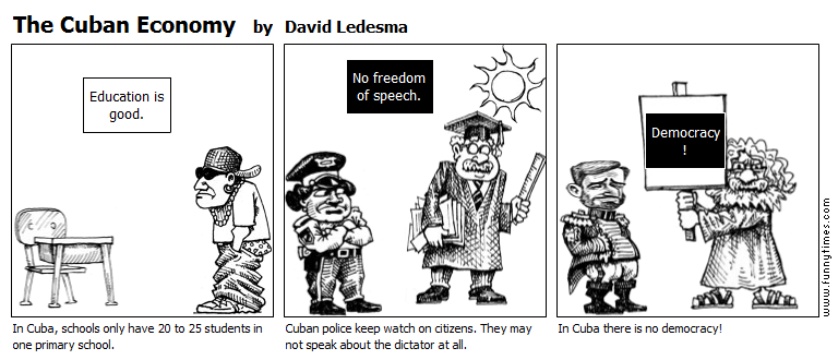 The Cuban Economy by David Ledesma