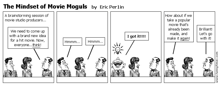 The Mindset of Movie Moguls by Eric Per1in
