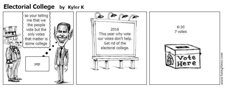 Electorial College by Kyler K