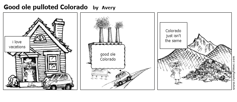 Good ole pulloted Colorado by Avery