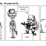 Barak Obama wins