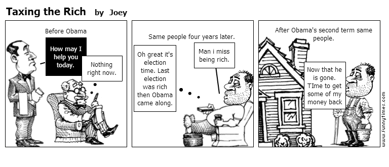 Taxing the Rich by Joey