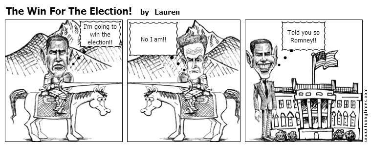 The Win For The Election by Lauren
