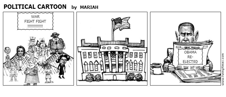 POLITICAL CARTOON by MARIAH