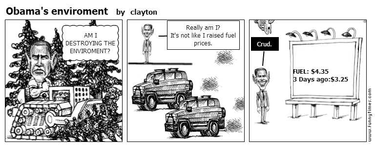 Obama's enviroment by clayton