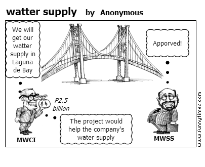 watter supply by Anonymous