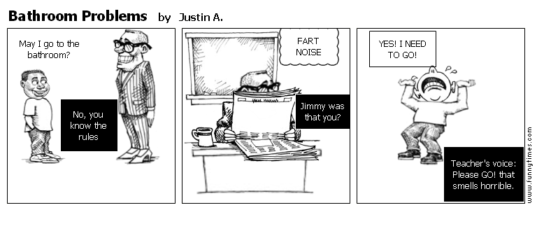 Bathroom Problems by Justin A.