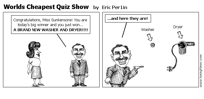 Worlds Cheapest Quiz Show by Eric Per1in