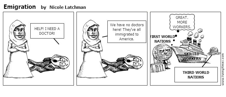 Emigration by Nicole Latchman