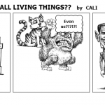 DOES O'BAMA LOVE ALL LIVING THINGS
