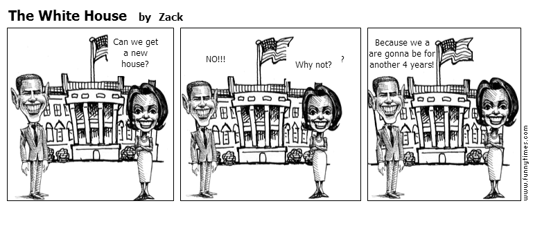 The White House by Zack