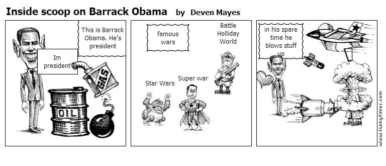 Inside scoop on Barrack Obama by Deven Mayes