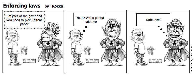 Enforcing laws by Rocco