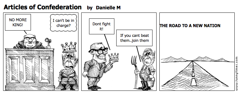 Articles of Confederation by Danielle M
