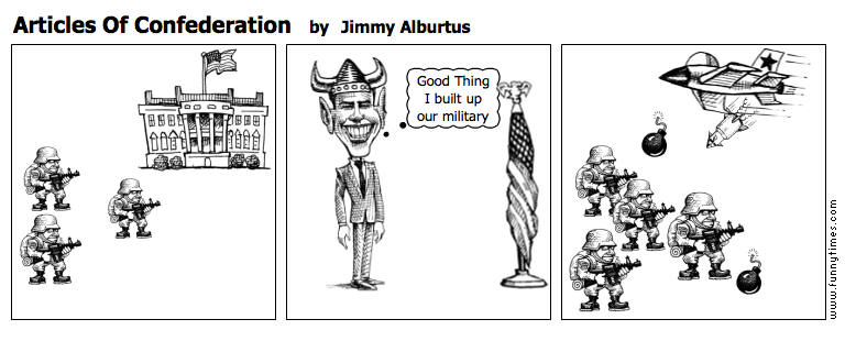 Articles Of Confederation by Jimmy Alburtus