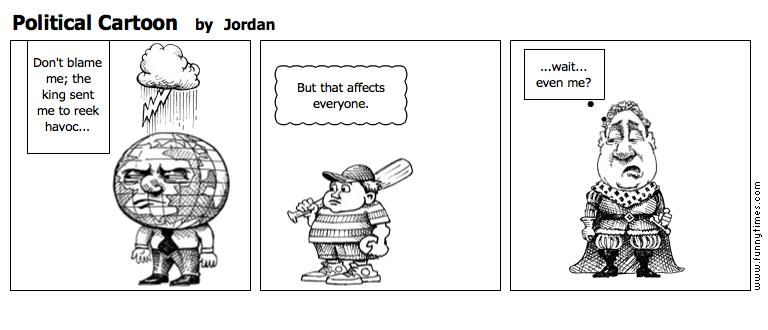 Political Cartoon by Jordan