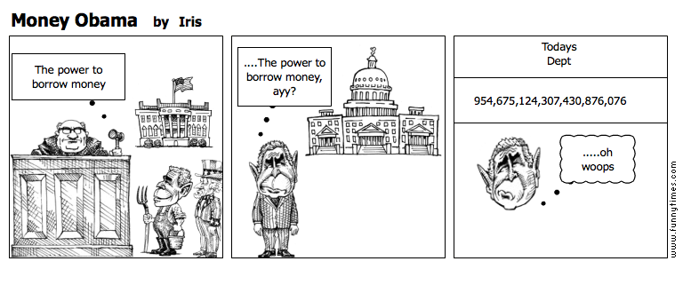 Money Obama by Iris