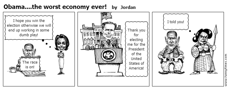 Obama....the worst economy ever by Jordan
