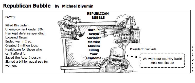 Republican Bubble by Michael Blyumin