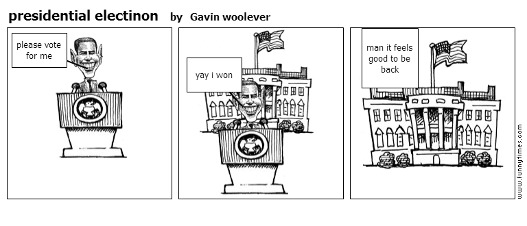 presidential electinon by Gavin woolever