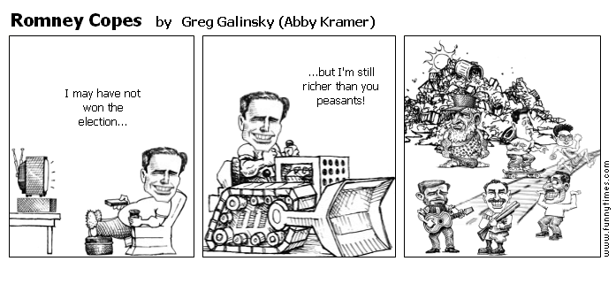 Romney Copes by Greg Galinsky Abby Kramer