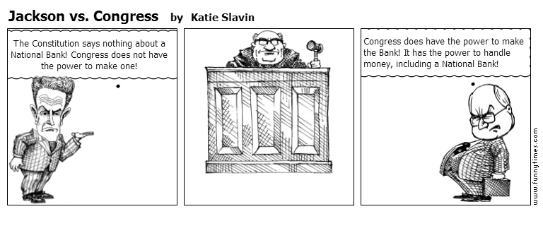 Jackson vs. Congress by Katie Slavin