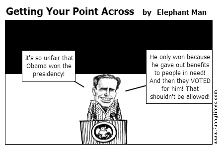 Getting Your Point Across by Elephant Man