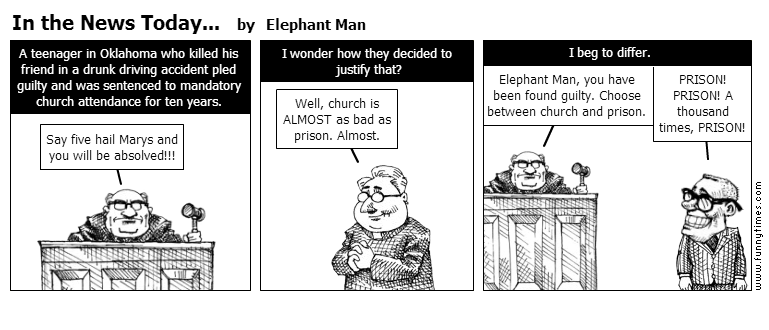 In the News Today... by Elephant Man