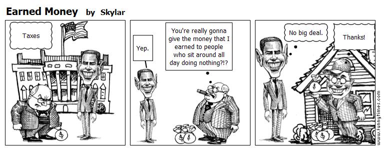 Earned Money by Skylar