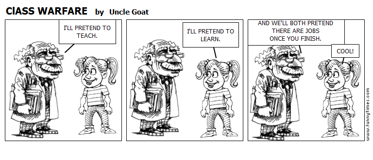 ClASS WARFARE by Uncle Goat
