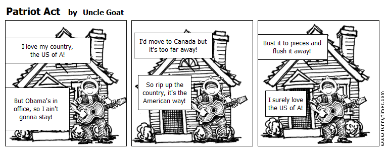 Patriot Act by Uncle Goat