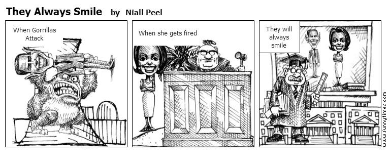 They Always Smile by Niall Peel