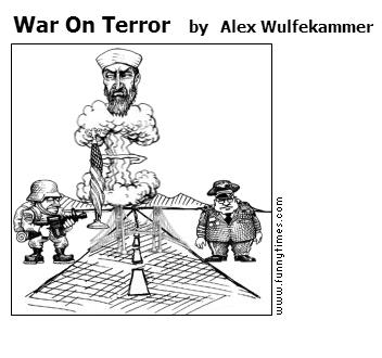War On Terror by Alex Wulfekammer