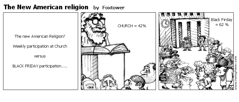 The New American religion by Foxtower