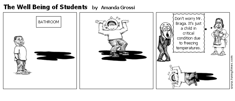 The Well Being of Students by Amanda Grossi