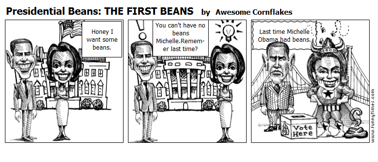Presidential Beans THE FIRST BEANS by Awesome Cornflakes