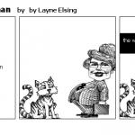 cat v.s the man woman