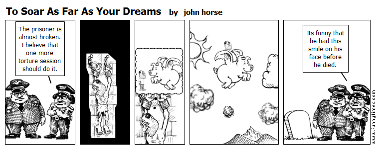 To Soar As Far As Your Dreams by john horse