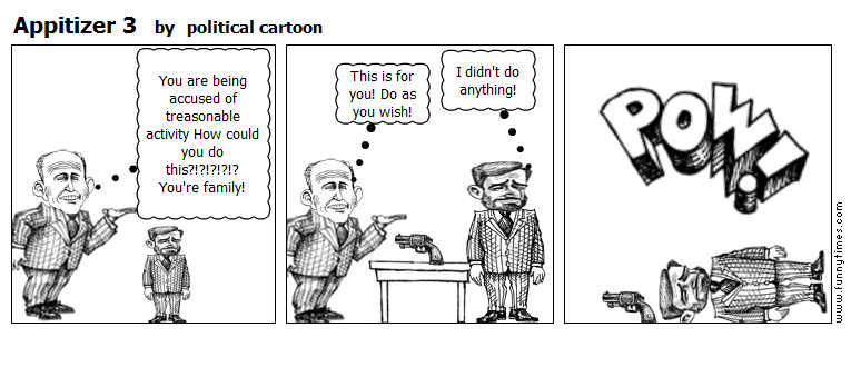 Appitizer 3 by political cartoon