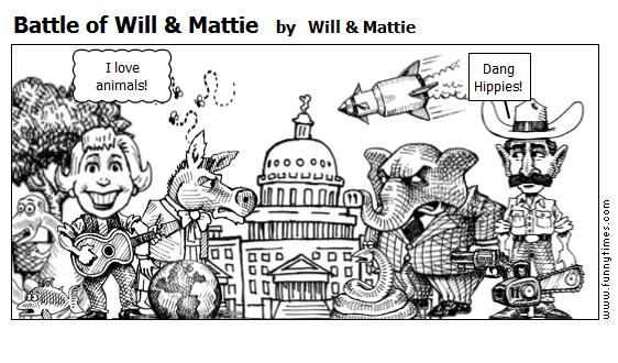 Battle of Will  Mattie by Will  Mattie