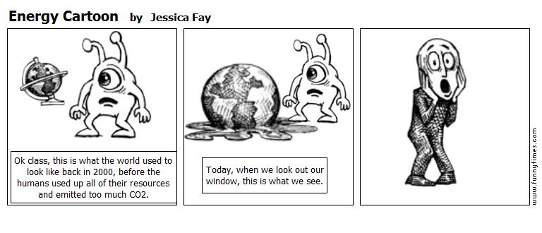 Energy Cartoon by Jessica Fay