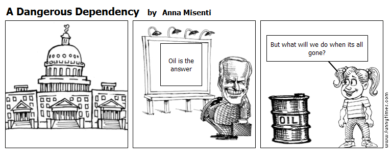 A Dangerous Dependency by Anna Misenti