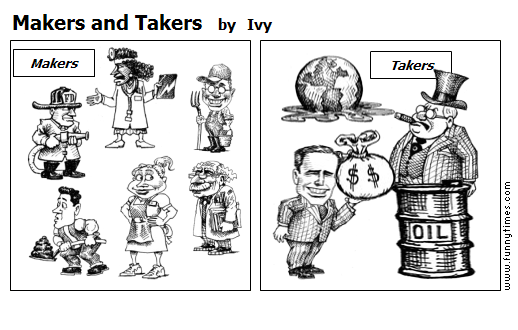 Makers and Takers by Ivy