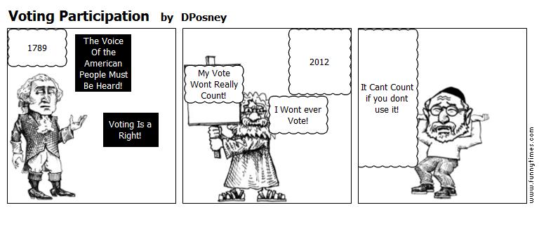 Voting Participation by DPosney