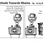A Fossilized Attitude Towards Obama