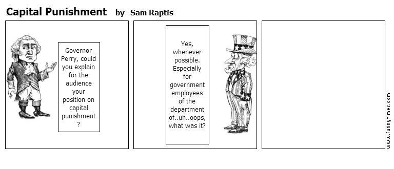 Capital Punishment by Sam Raptis