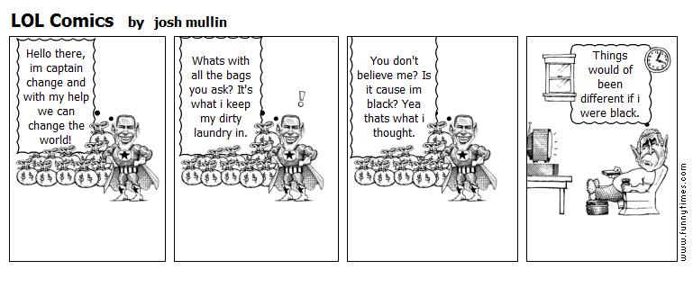 LOL Comics by josh mullin