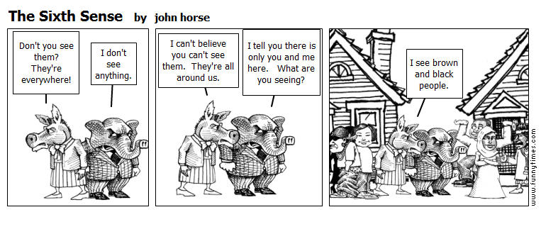The Sixth Sense by john horse
