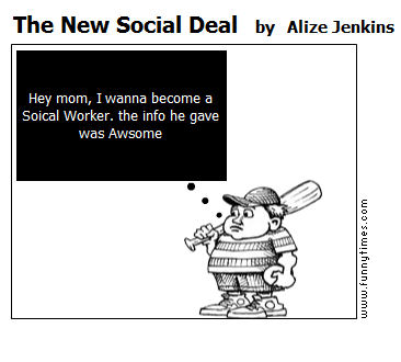 The New Social Deal by Alize Jenkins